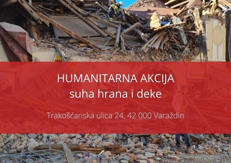 Varaždinski SDP organizira akciju prikupljanja pomoći stanovnicima Petrinje i Sisačko-moslavačke županije