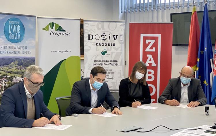 Potpisan Sporazum o izgradnji biciklističke staze uz vodotokove Kosteljine, Horvatske, Krapine i Krapinice