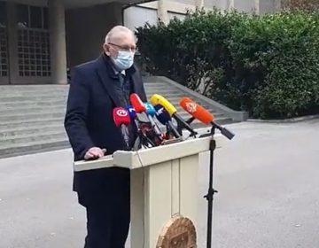 Božinović: Brojevi su bolji, ali ne želimo riskirati treći val epidemije