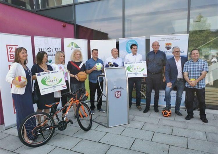 "TZP Srce Zagorja i službeno dobila titulu ""Europska zajednica sporta 2021."""