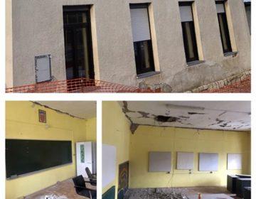 Područna škola Laz stradala u potresu – graditi će se na novo
