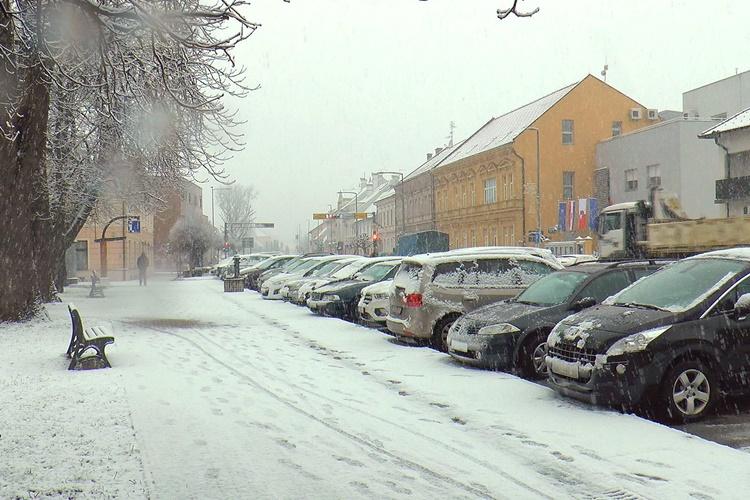 Prekrasna zimska priča: Pogledajte kako je snijeg zabijelio Prelog