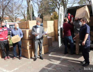 U Koprivničko-križevačku županiju stiglo preko 80 tisuća komada različite zaštitne opreme