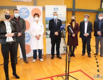 U Đurđevcu cijepljeno 490 građana, županijskom Stožeru, Zavodu za javno zdravstvo i liječnicima obiteljske medicine pohvale na uspješnoj organizaciji punktova