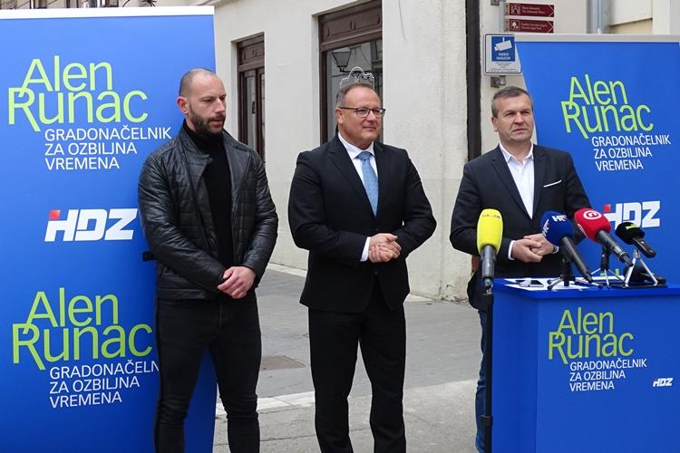 """Alen Runac HDZ-ov je kandidat za varaždinskog gradonačelnika: """"Iza mene će stati tim uspješnih ljudi koji su sposobni razviti ovaj grad"""""""