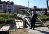 Počela obnova pješačkog mosta u Šetalištu Hrvatskog narodnog preporodu prema Pekomu u Krapini