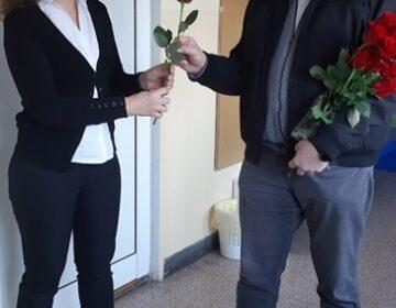 Crvene ruže za drage sugrađanke Klanjca