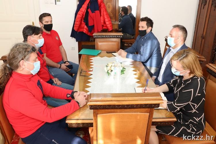 Koprivničko-križevačku županiju posjetio dopročelnik HGSS-a Neven Putar, u tijeku opremanje budućeg sjedišta HGSS Stanice Koprivnica