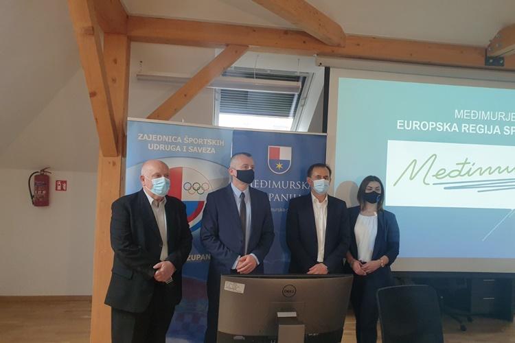 Projektu Međimurje – Europska regija sporta 2022. dodana nova vrijednost: Priključuje se i MEV!