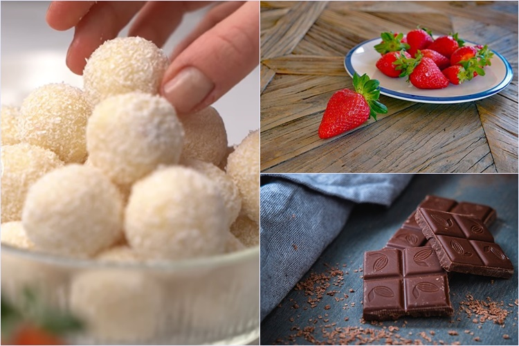 MLJAC! Raffaello kuglice s jagodama – desert kojeg se nećete moći zasititi