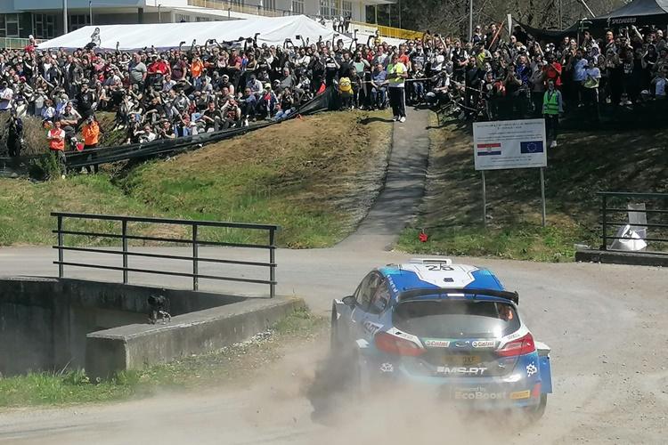 FOTOGALERIJA Sedmerostruki svjetski prvak Ogier pobijedio na prvom Croatia Rallyju