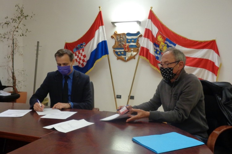 Potpisan Ugovor o izradi projektne dokumentacije uređenja prezentacijskog centra u Županijskoj palači