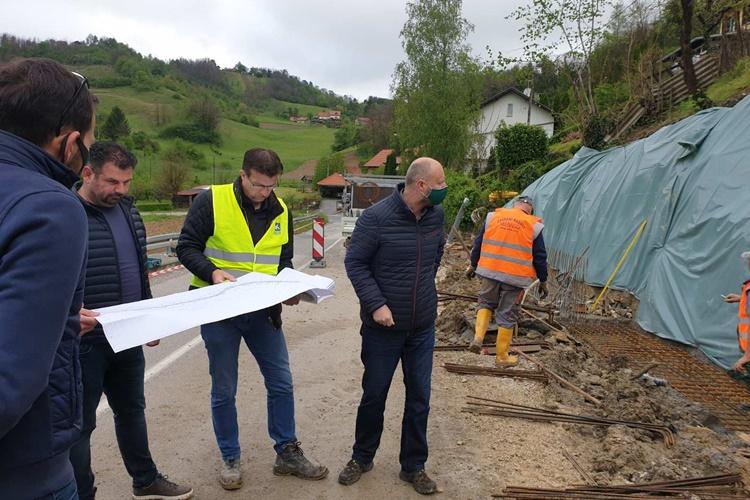 Župan Kolar obišao klizište u Klokovcu: U općini Krapinske Toplice u četiri godine čak 10,2 milijuna kuna investicija