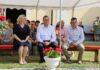 Župan Koren u Hlebinama na posvećenju nove župne dvorane i Križnog puta