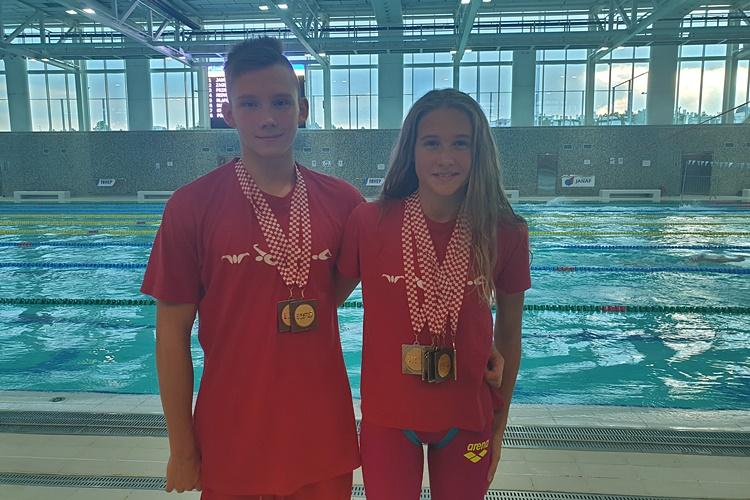 SJAJAN USPJEH Sara Marković kadetska prvakinja Hrvatske, Barokovci isplivali 18 osobnih rekorda