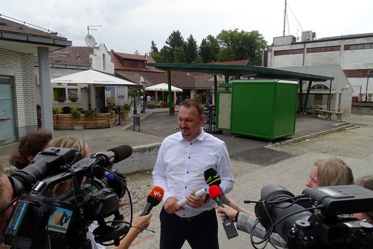 Gradonačelnik Jenkač: Uređujemo postojeću, ali imamo planove i za novu, veću gradsku tržnicu u Novom Marofu