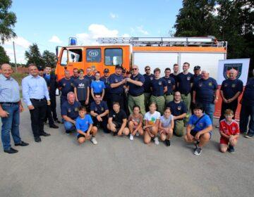 Ljudskost i želja za pomoći: njemački vatrogasci donirali vrijednu donaciju DVD-u Domaji iz Podravine!