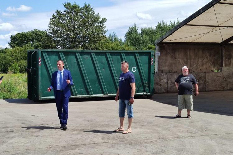 Bosilj obišao Pretovarnu stanicu u Poljani Biškupečkoj: Riješili smo problem, sve je sanirano, nema ni neugodnih mirisa!