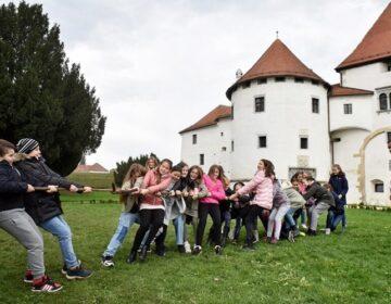 U sklopu Dječjeg tjedna oko 800 mališana uživalo u zabavno-sportskim aktivnostima na varaždinskom Starom gradu